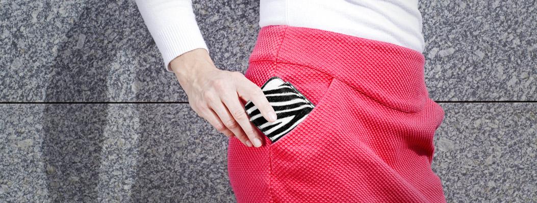 leren iPhone hoesje met zebra print